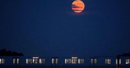 How to see today's super strawberry moon, the last supermoon of 2021