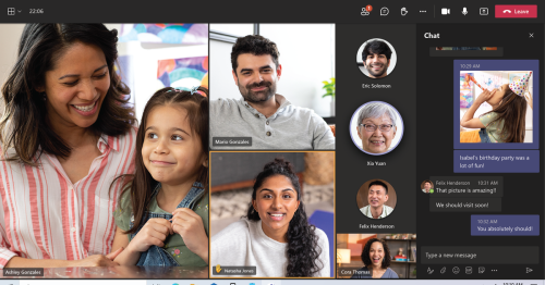 Microsoft Teams wants to be your go to for video calls, chats with friends and family