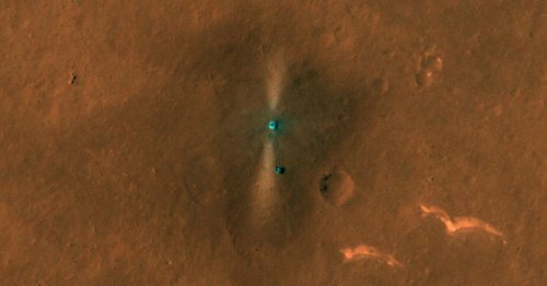 China's elusive Zhurong Mars rover 'clearly visible' in dramatic NASA view