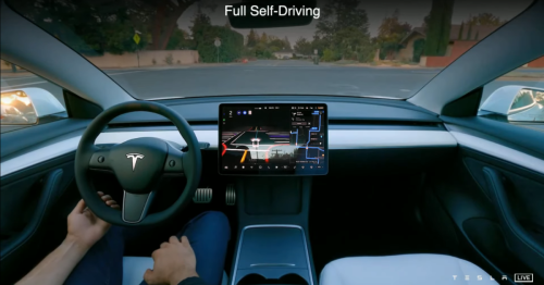 Potentially massive Tesla Full Self-Driving rollout scheduled for next week with 'beta request' button
