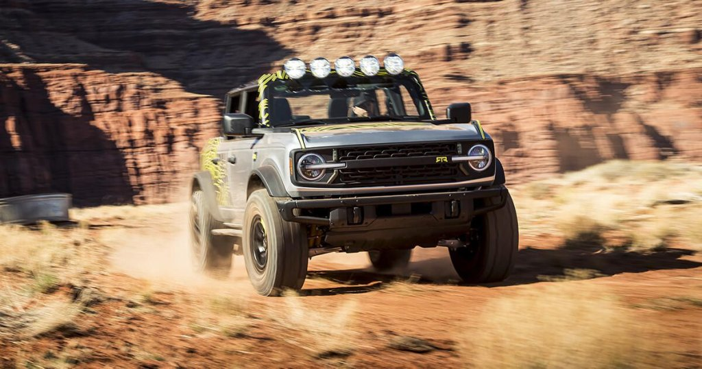 Ford Bronco - cover