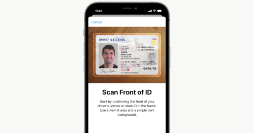 So long, wallets. In iOS 15, your iPhone will even hold your driver's license