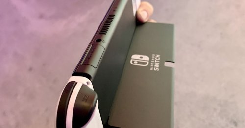 Hands-on: Best upgrade on the new OLED Nintendo Switch may not be the screen