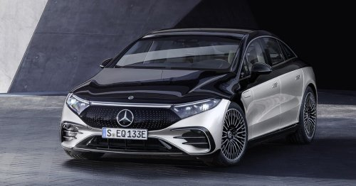 2022 Mercedes-Benz EQS Edition One is a flashy, techy electric flagship