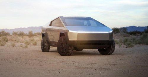 Tesla Cybertruck hits New York ahead of Elon Musk's SNL hosting appearance