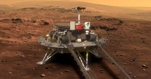 China's Tianwen-1 mission nails historic rover landing on Mars