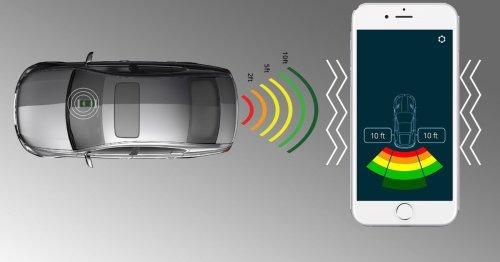 FenSens turns the average license plate holder into a parking sensor array