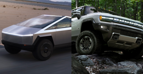 Tesla Cybertruck vs. Hummer EV: Could these two be more different?