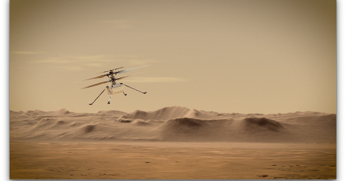 Ingenuity helicopter's Mars flight delayed again while NASA updates software
