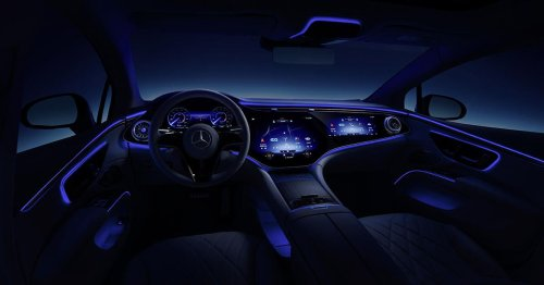 The Mercedes-Benz EQS has a Power Nap mode (seriously)