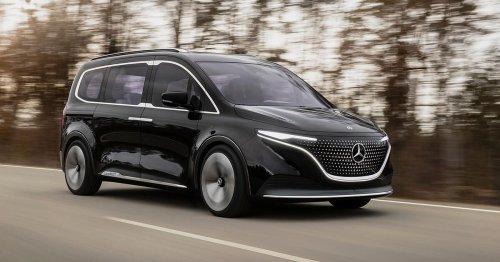 Mercedes-Benz EQT van concept previews a handsome electric machine