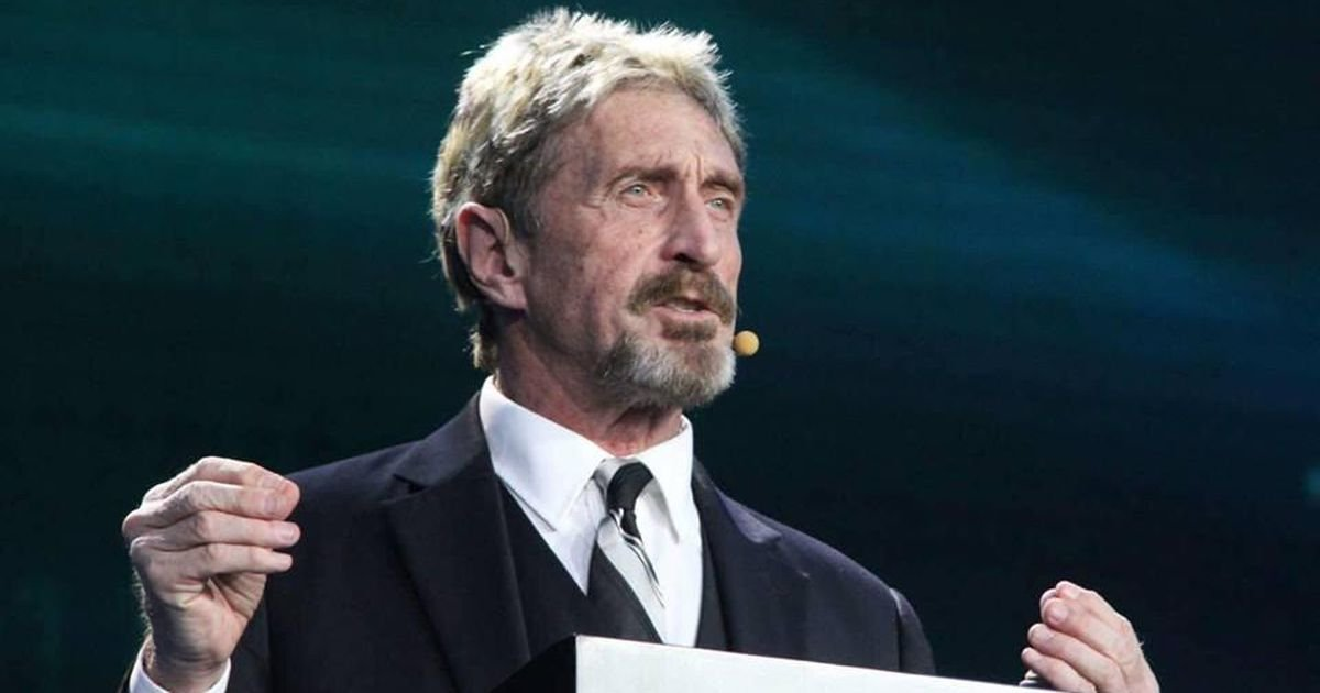 John McAfee running for US president on pro-cryptocurrency platform