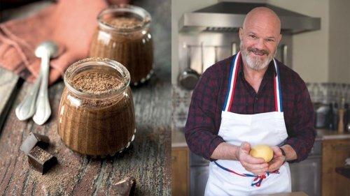 La recette de la mousse au chocolat de Philippe Etchebest