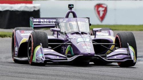 Vidéo : La voiture de Romain Grosjean prend feu en IndyCar