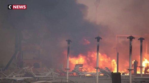 La Sicile dévorée par les incendies