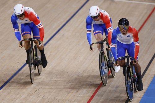 JO de Tokyo : L'Equipe de France masculine médaillée de bronze de vitesse par équipes