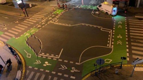 aménagement urbain : qu'est-ce que le «carrefour à la hollandaise» qui protège les cyclistes ?