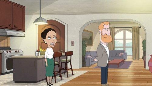 Prince Harry : un dessin animé tourne en dérision son exil américain