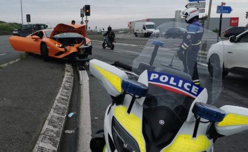 Lens : il démolit une Lamborghini de location lors d'un mariage en voulant échapper à la police