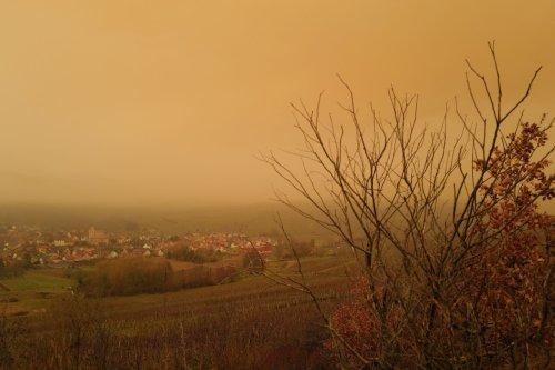 Ciel orange et pluies de sable attendus ce dimanche en France