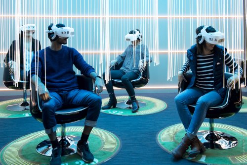 On a testé «Pyramides», la nouvelle attraction en réalité virtuelle de Flyview