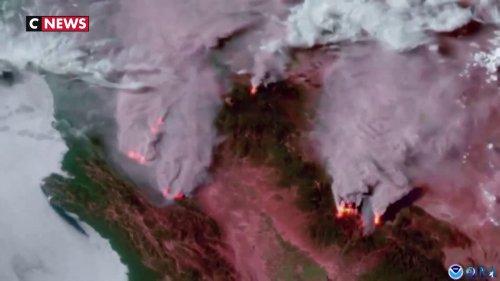Vidéo : les incendies en Californie vus depuis l'espace
