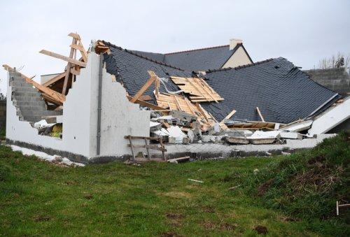 Tempête Aurore : une «mini-tornade» a secoué le Finistère