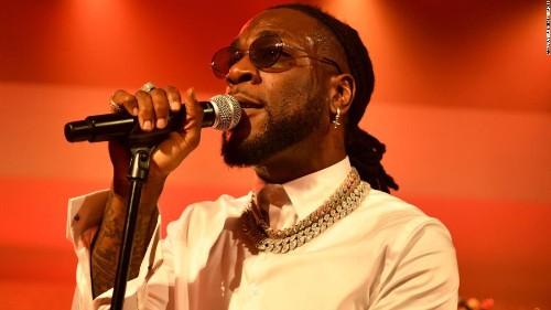 Nigeria's Burna Boy featured on US inauguration playlist