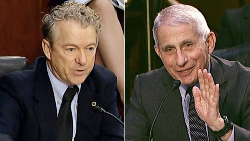 See Rand Paul spar with Dr. Fauci over masks