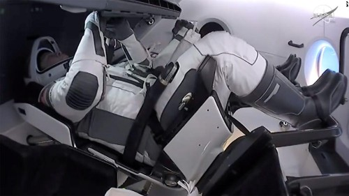 NASA-SpaceX mission: Astronauts begin 19-hour journey home on historic Crew Dragon mission