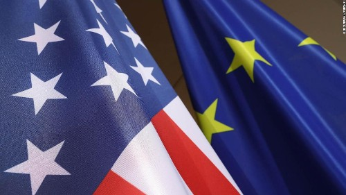 What it's like to be an American in Europe right now