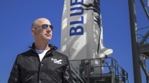 Spare ticket for spaceflight with Jeff Bezos auctioned for $28 million