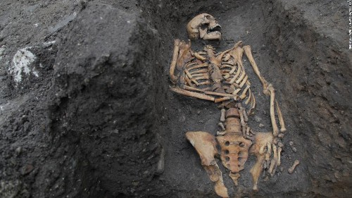 Medieval bones tell a stark tale of hard work and injury