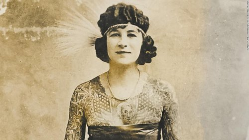 See how tattoo art has changed since the 18th century