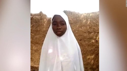 Hear from schoolgirl who escaped abduction in Nigeria