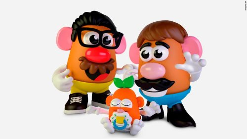 Mr. Potato Head tries to be more gender neutral
