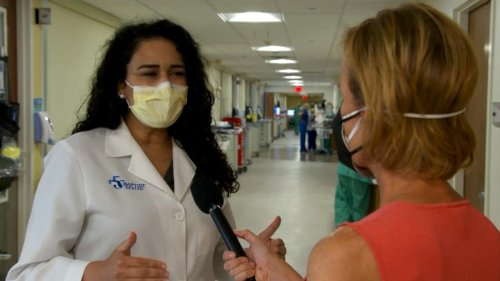 Staff at a Florida hospital say they are hearing panic, fear and regret from unvaccinated Covid-19 patients