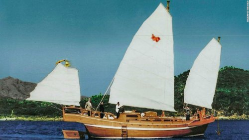 How a failed journey to California aboard a Chinese junk boat led to a lifelong friendship