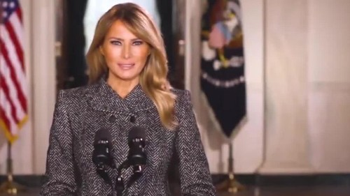 Melania Trump hires staff and establishes post-White House office