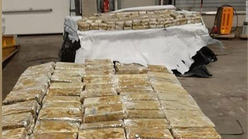 Nearly 28 tons of cocaine seized after police access encrypted network