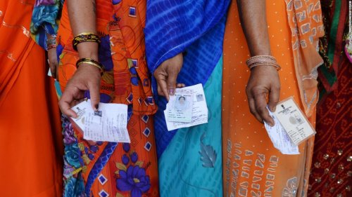 India Elections:900 million head to the polls cover image
