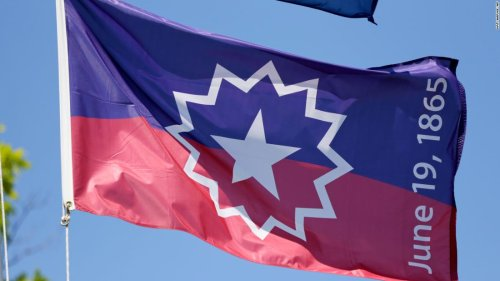 The Juneteenth flag is full of symbols. Here's what they mean