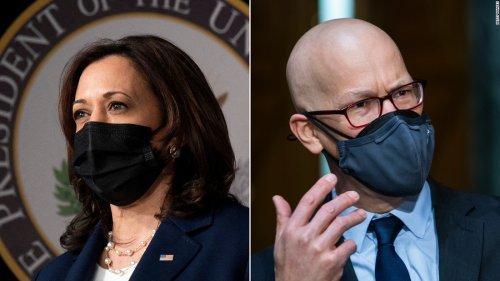 Harris casts first tie-breaking vote for a Biden nominee after Senate splits on Pentagon pick