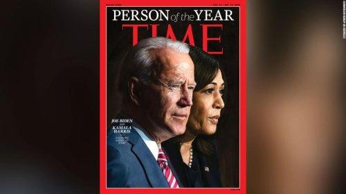 Joe Biden and Kamala Harris named Time Person of the Year