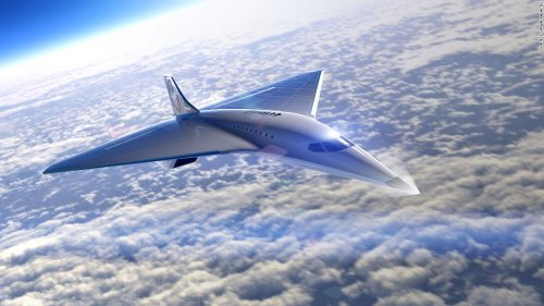 Virgin Galactic reveals new supersonic jet design that would fly three times speed of sound