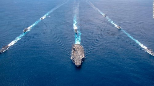 Washington orders US aircraft carrier to remain in Middle East amid Iranian threats