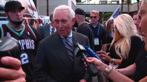 Trump ally Roger Stone got 'heroes welcome' outside of CPAC