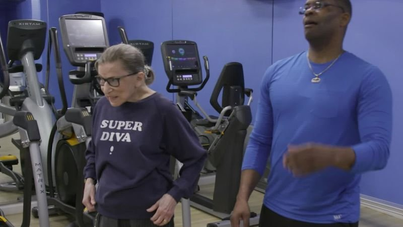 Justice Ruth Bader Ginsburg, an unlikely fitness role model | CNN Politics