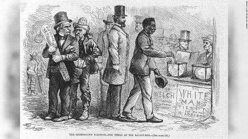 Opinion: US history holds a chilling warning about restricting votes