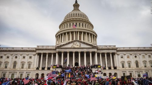 Hear Army veteran's message to DC police officers after January 6 insurrection